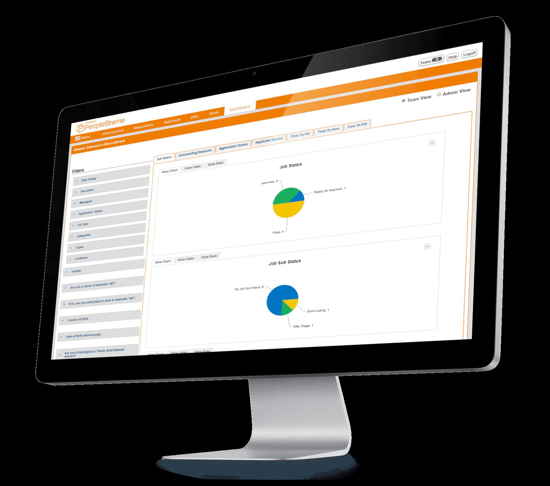online recruitment software desktop